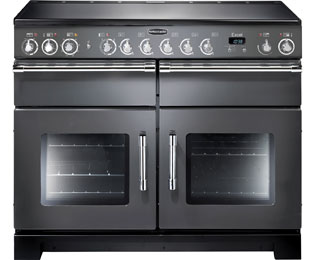 Rangemaster Excel 110cm Electric Range Cooker with Ceramic Hob - Slate - A Rated