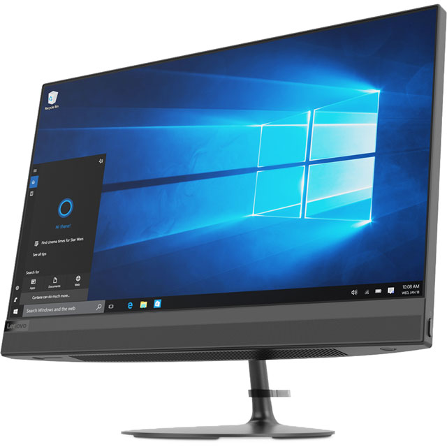 "Lenovo ideacentre AIO 520-24IKU 23.8"" All In One - Black"