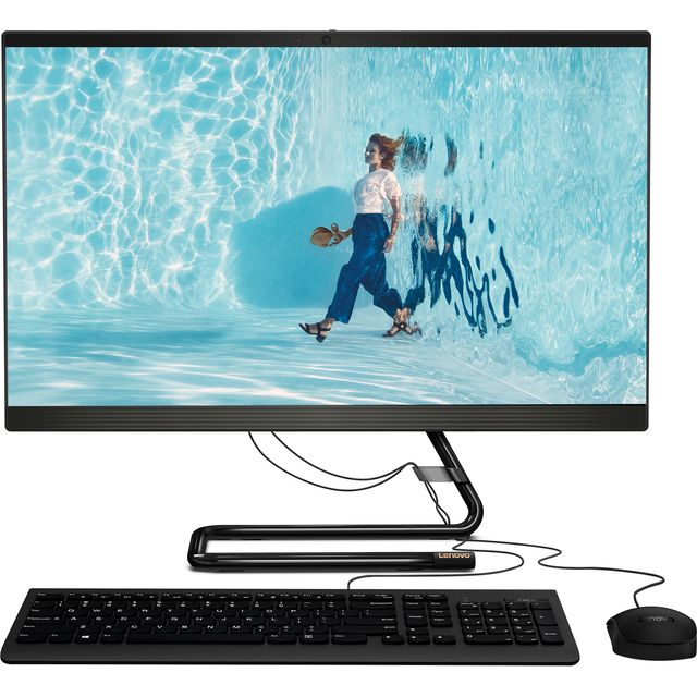 "Lenovo IdeaCentre 24ARE05 23.8"" All In One - 1TB HDD - Black"