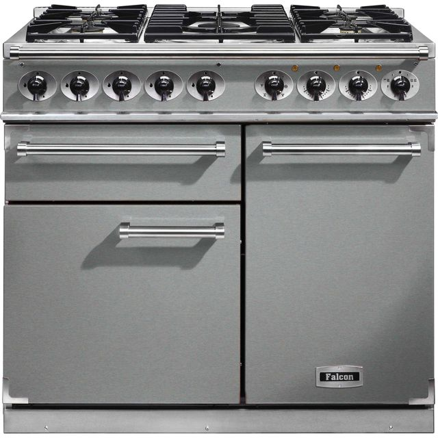Falcon 1000 DELUXE F1000DXDFSS/CM Free Standing Range Cooker in Stainless Steel