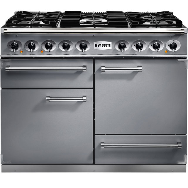 Falcon 1092 DELUXE 110cm Dual Fuel Range Cooker - Stainless Steel - A/A Rated
