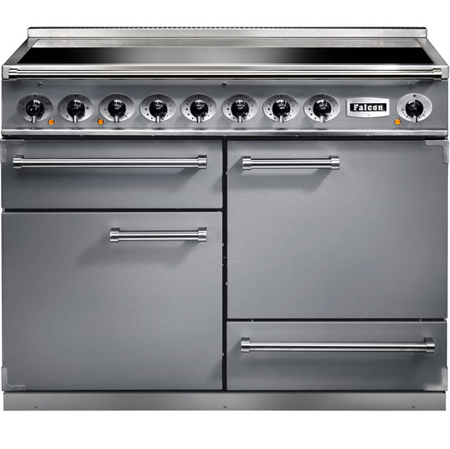 Falcon 1092 DELUXE 110cm Electric Range Cooker with Induction Hob - Stainless Steel - A/A Rated