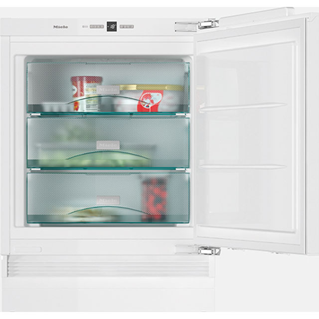Miele F31202Ui Integrated Under Counter Freezer with Fixed Door Fixing Kit - A++ Rated - F31202Ui_WH - 1