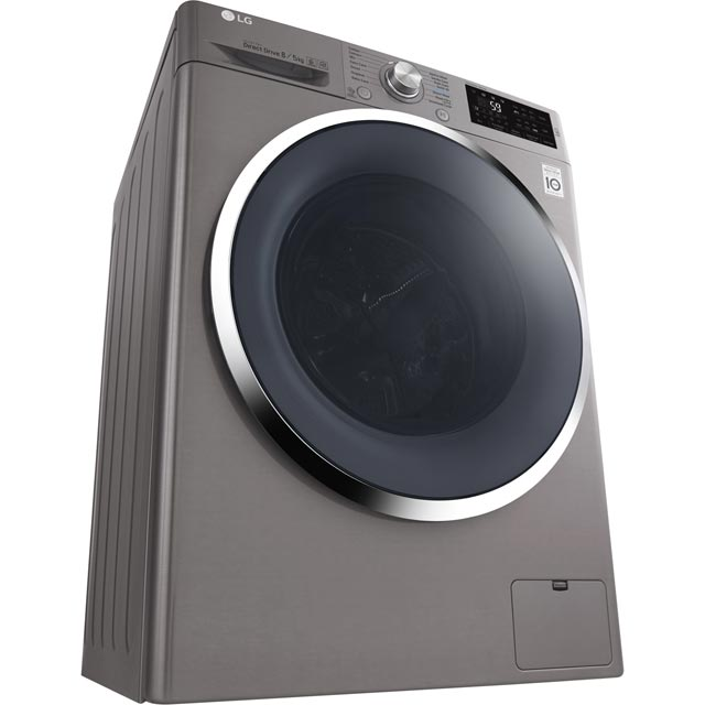 LG F4J6AM2S Washer Dryer - Graphite - F4J6AM2S_GH - 3