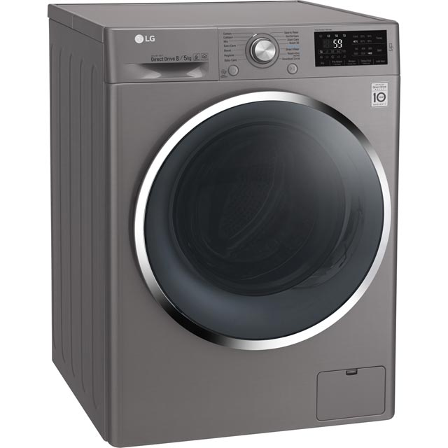 LG F4J6AM2S Washer Dryer - Graphite - F4J6AM2S_GH - 4