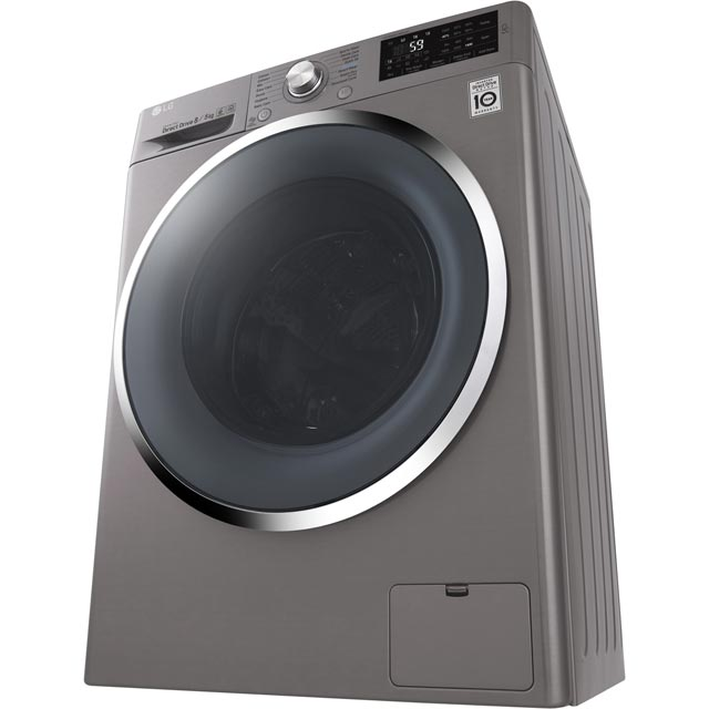LG F4J6AM2S Washer Dryer - Graphite - F4J6AM2S_GH - 5