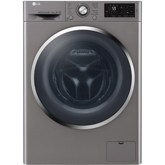 LG 8Kg / 4Kg Washer Dryer - Graphite - A Rated
