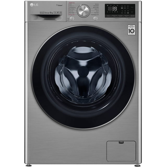 LG V7 F4V709STS Wifi Connected 9Kg Washing Machine with 1400 rpm - Graphite - A+++ Rated - F4V709STS_GH - 1
