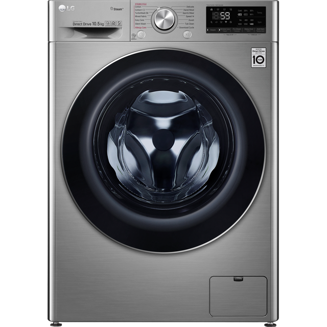LG V7 F4V710STS Wifi Connected 10.5Kg Washing Machine with 1400 rpm - Graphite - A+++ Rated - F4V710STS_GH - 1