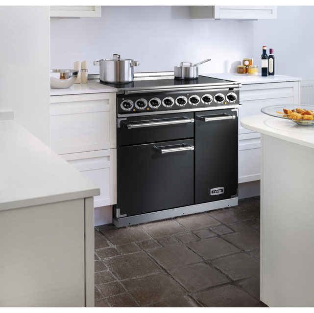 Falcon F900DXEIRD/N 900 DELUXE 100cm Electric Range Cooker - Cherry Red - F900DXEIRD/N_CHE - 2