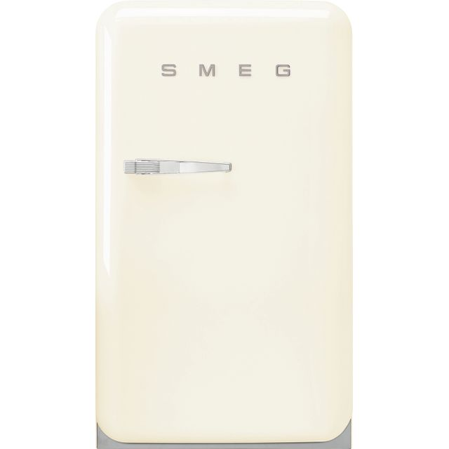 Smeg Right Hand Hinge Home Bar FAB10HRCR2 Fridge - Cream - A++ Rated