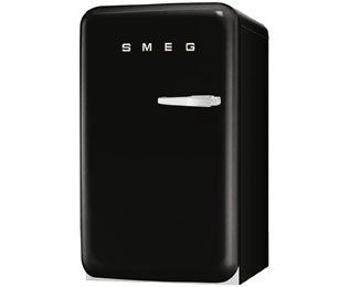 Smeg FAB10LNE Fridge with Ice Box - Black - A+ Rated - FAB10LNE_BK - 1