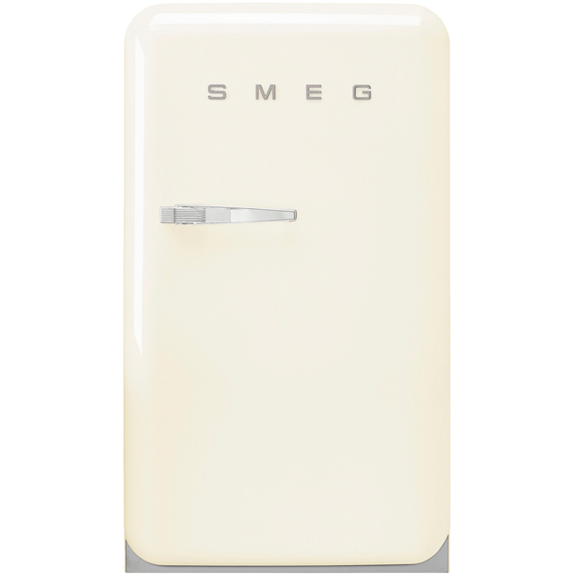 Smeg Right Hand Hinge FAB10RCR2 Fridge with Ice Box - Cream - A++ Rated