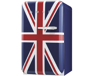 Smeg FAB10LUJ Fridge with Ice Box - Union Jack - A+ Rated - FAB10LUJ_UJ - 1