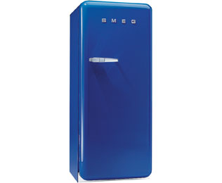 Smeg Right Hand Hinge FAB28QBL1 Fridge with Ice Box - Blue - A++ Rated - FAB28QBL1_BL - 1