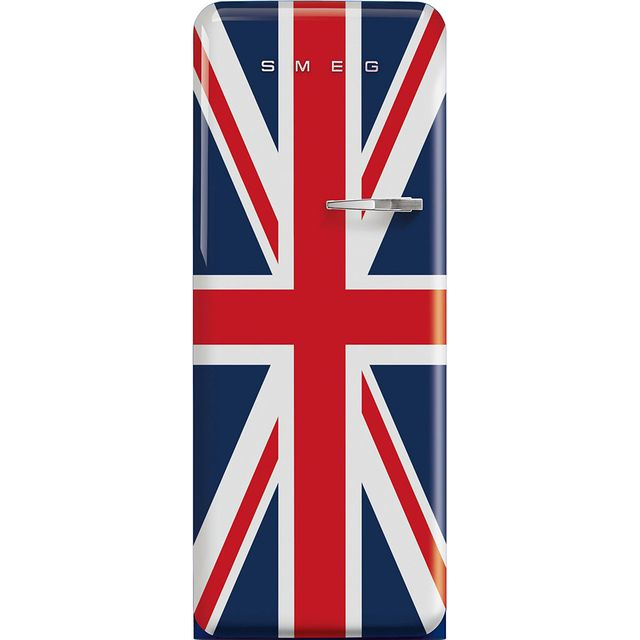 Smeg Left Hand Hinge FAB28LDUJ3UK Fridge - Union Jack - A+++ Rated