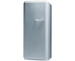 Smeg Left Hand Hinge FAB28YX1 Fridge with Ice Box - Silver - A++ Rated - FAB28YX1_SI - 1