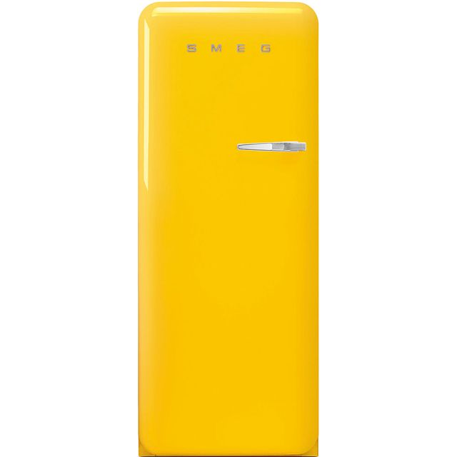 Smeg Left Hand Hinge FAB28LYW3UK Fridge - Yellow - FAB28LYW3UK_YE - 1