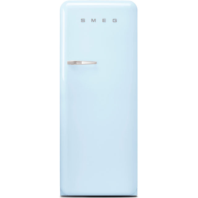 Smeg Right Hand Hinge FAB28RPB3UK Fridge - Pastel Blue - A+++ Rated
