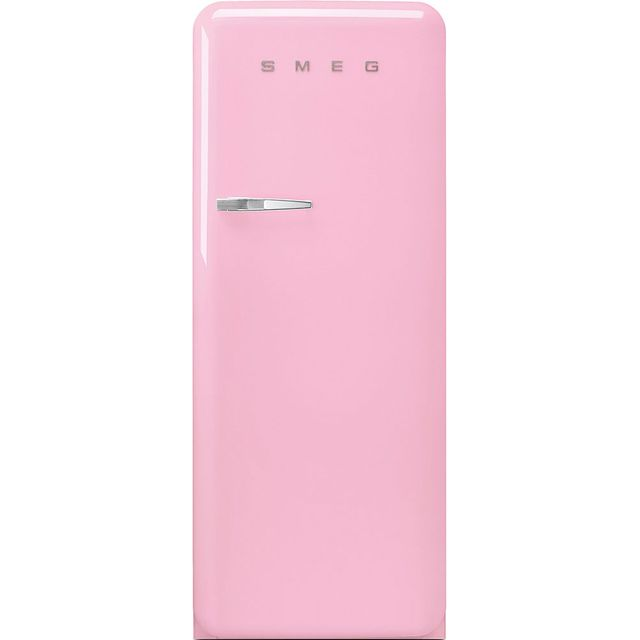 Smeg Right Hand Hinge FAB28RPK3UK Fridge - Pink - A+++ Rated