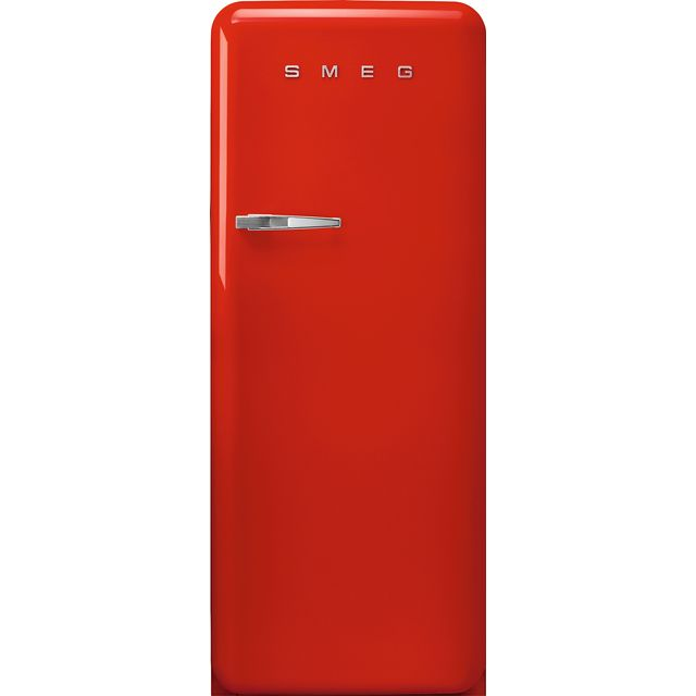 Smeg Right Hand Hinge FAB28RRD3UK Fridge - Red - A+++ Rated