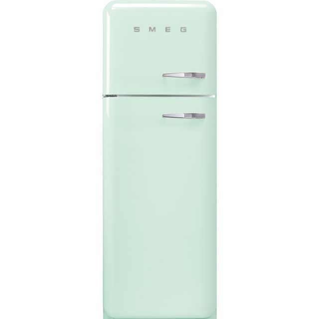 Smeg Left Hand Hinge FAB30LPG5UK 70/30 Fridge Freezer - Pastel Green - A+++ Rated