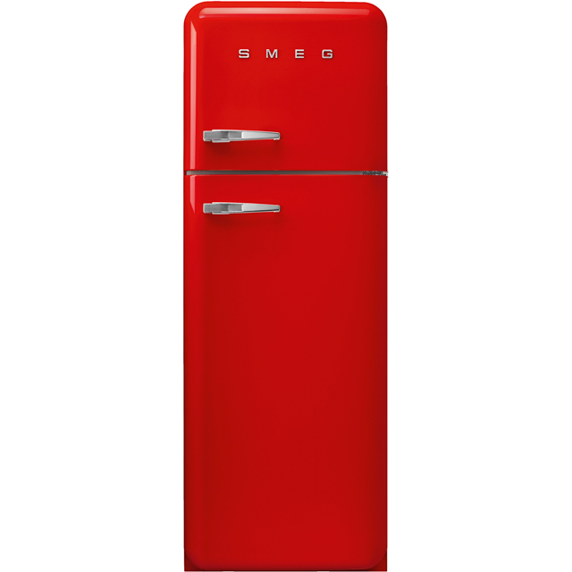 Smeg Right Hand Hinge FAB30RRD3UK 70/30 Fridge Freezer - Red - A+++ Rated - FAB30RRD3UK_RD - 1