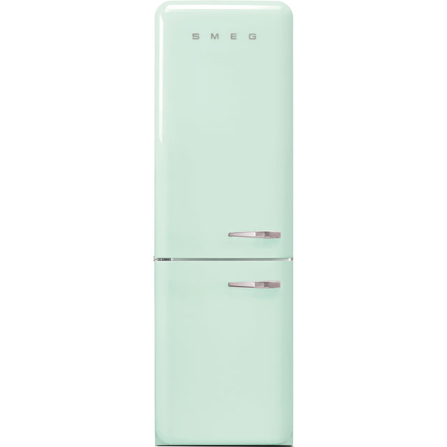 Smeg Left Hand Hinge FAB32LPG3UK 60/40 Frost Free Fridge Freezer - Pastel Green - A+++ Rated - FAB32LPG3UK_PG - 1