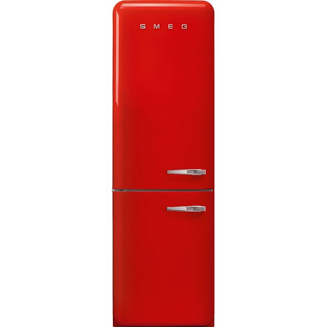 Smeg Left Hand Hinge FAB32LRD3UK 60/40 Frost Free Fridge Freezer - Red - A+++ Rated