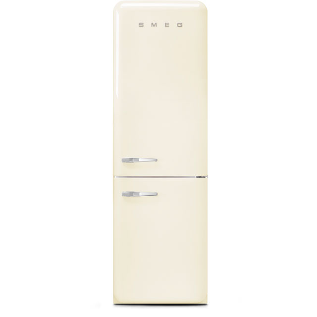 Smeg Right Hand Hinge FAB32RCR3UK 60/40 Frost Free Fridge Freezer - Cream - A+++ Rated - FAB32RCR3UK_CR - 1