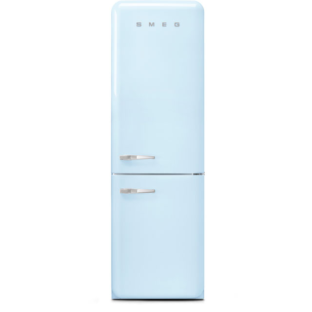 Smeg Right Hand Hinge 60/40 Frost Free Fridge Freezer - Pastel Blue - A+++ Rated