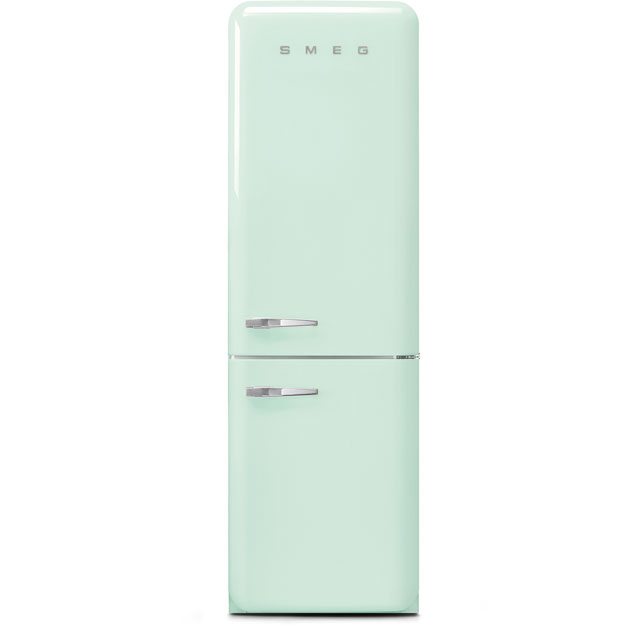 Smeg Right Hand Hinge 60/40 Frost Free Fridge Freezer - Pastel Green - A+++ Rated