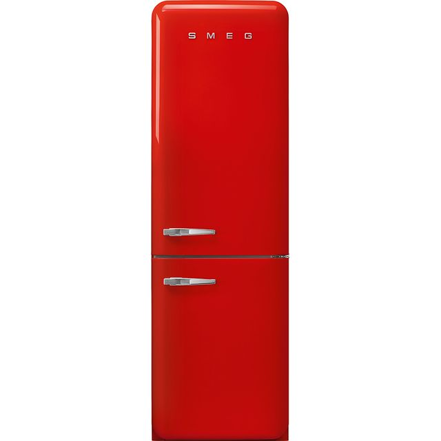 Smeg Right Hand Hinge FAB32RRD3UK 60/40 Frost Free Fridge Freezer - Red - A+++ Rated - FAB32RRD3UK_RD - 1