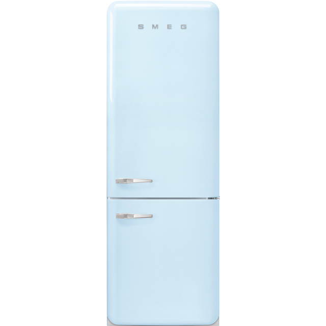 Smeg Right Hand Hinge FAB38RPB 70/30 Frost Free Fridge Freezer - Pastel Blue - G Rated