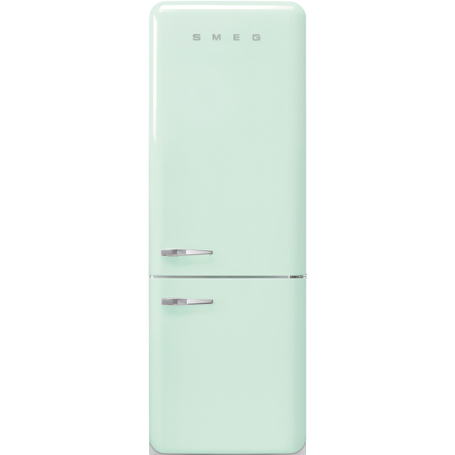 Smeg Right Hand Hinge FAB38RPG 70/30 Frost Free Fridge Freezer - Pastel Green - A++ Rated