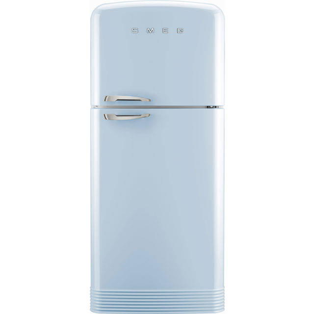 Smeg Right Hand Hinge FAB50RPB 80/20 Frost Free Fridge Freezer - Pastel Blue - A++ Rated - FAB50RPB_PB - 1