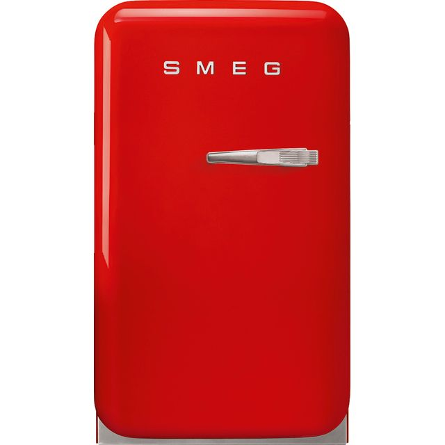 Smeg Left Hand Hinge FAB5LRD3 Fridge - Red