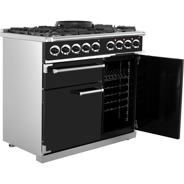 Falcon F1000DXDFCA/NM 1000 DELUXE 100cm Dual Fuel Range Cooker - China Blue - F1000DXDFCA/NM_CHB - 5