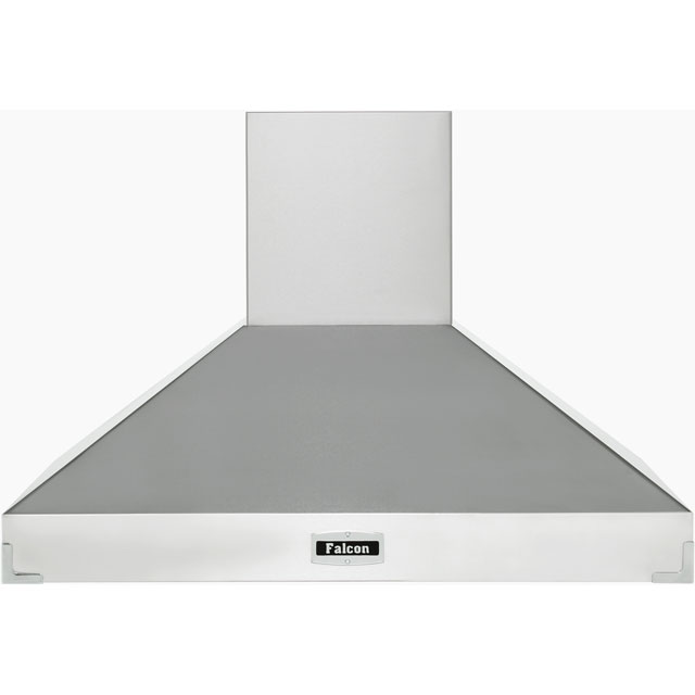 Falcon 100 cm Chimney Cooker Hood - Stainless Steel - A Rated