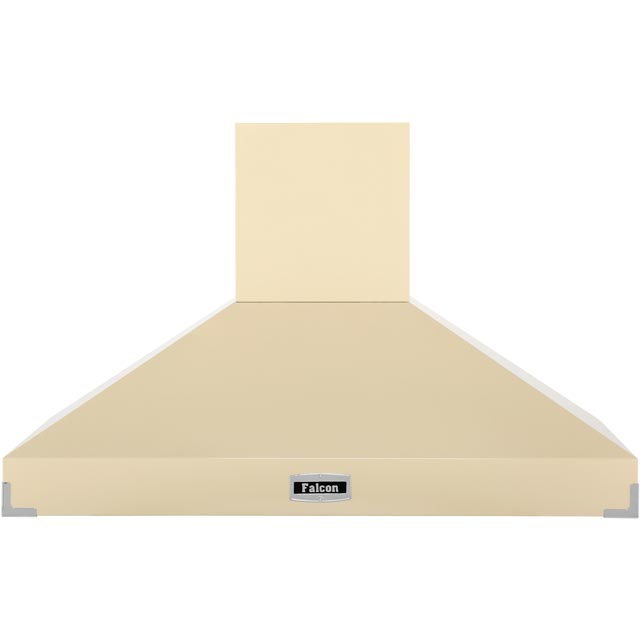 Falcon 110 cm Chimney Cooker Hood - Cream - A Rated