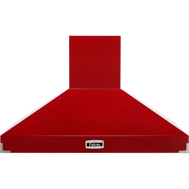 Falcon FHDSE1092RD/N 109 cm Chimney Cooker Hood - Cherry Red - A Rated - FHDSE1092RD/N_CHE - 1