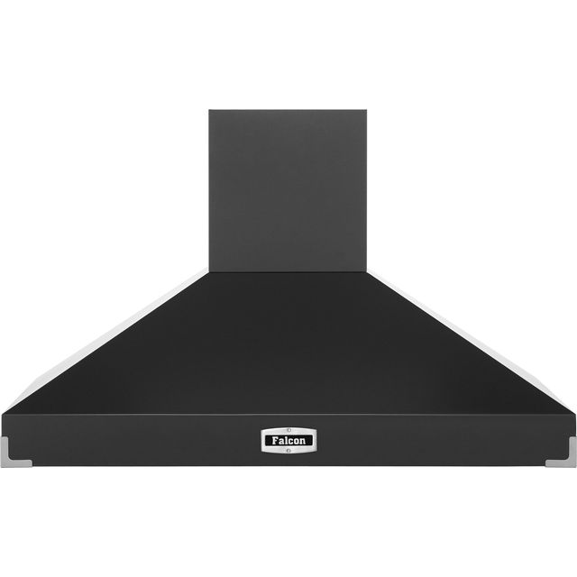 Falcon 110 cm Chimney Cooker Hood - Slate - A Rated