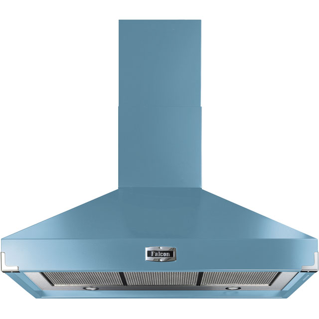 Falcon FHDSE1000CA/N 100 cm Chimney Cooker Hood - China Blue - A Rated - FHDSE1000CA/N_CHB - 1