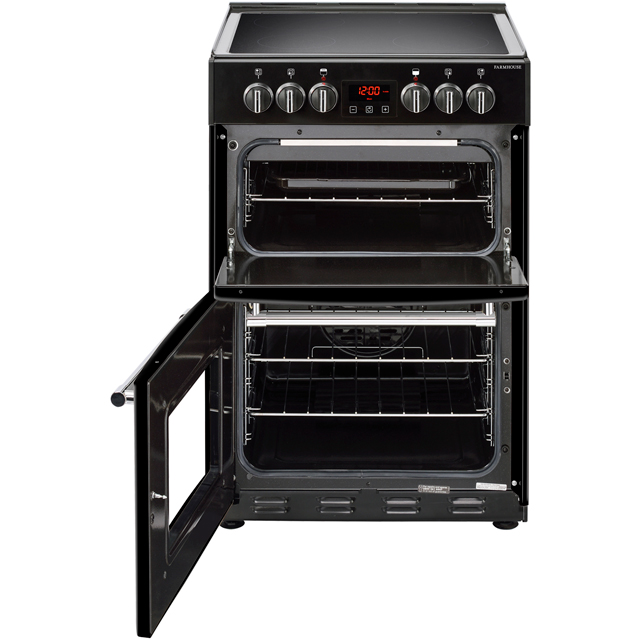 Belling Farmhouse60E Electric Cooker - Black - Farmhouse60E_BK - 2