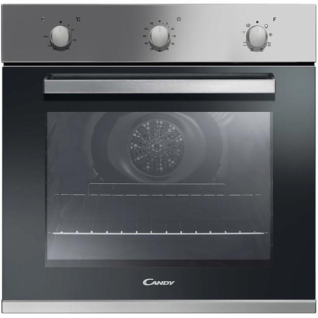 Candy FCP602X Built In Electric Single Oven - Stainless Steel - FCP602X_SS - 1