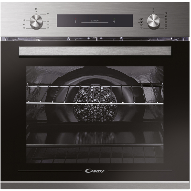 Candy FCP602XE0/E Wifi Connected Built In Electric Single Oven - Stainless Steel - A+ Rated - FCP602XE0/E_SS - 1