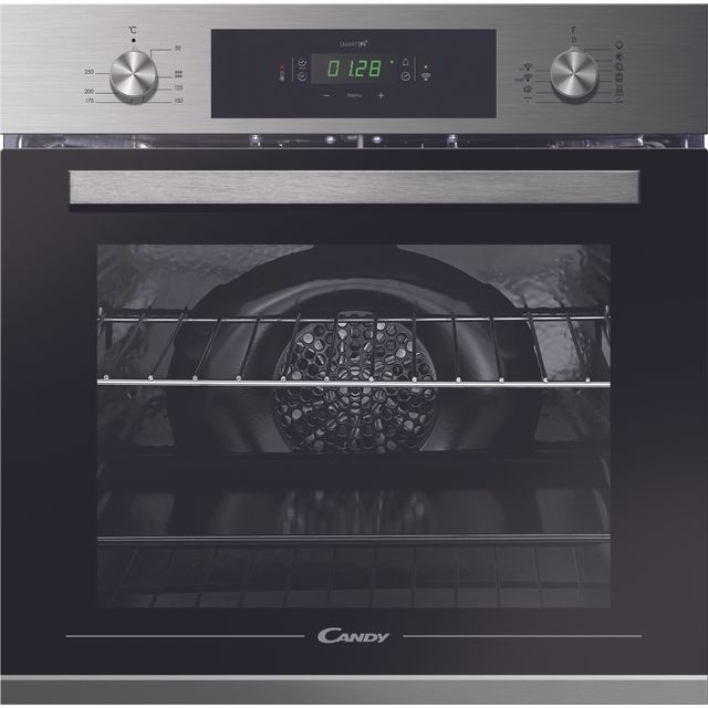 Candy FCP815X E0/E Built In Electric Single Oven - Stainless Steel - FCP815X E0/E_SS - 1