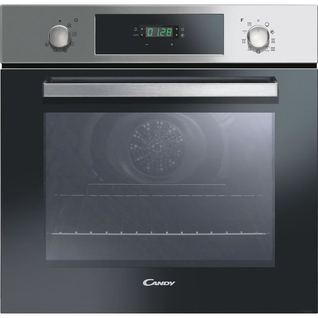 Candy FCP886X Built In Electric Single Oven - Stainless Steel - FCP886X_SS - 1