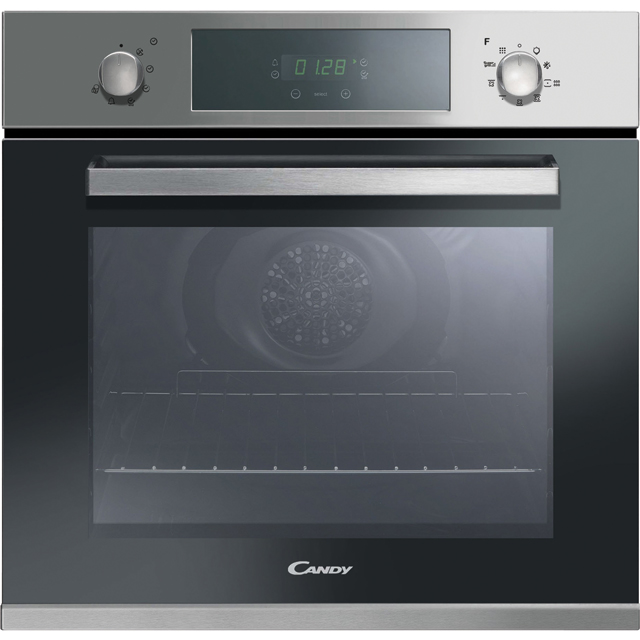 Candy FCPK606X Built In Electric Single Oven - Stainless Steel - FCPK606X_SS - 1