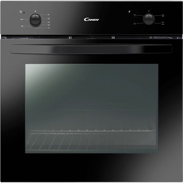 Candy FCS201N Built In Electric Single Oven - Black - A Rated - FCS201N_BK - 1
